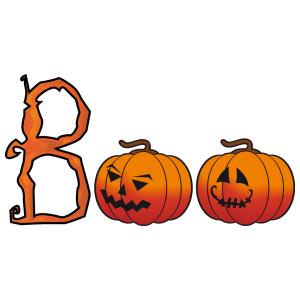 Halloween - boo! matrica kép
