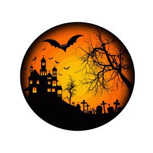 Halloween téma 01 matrica kép