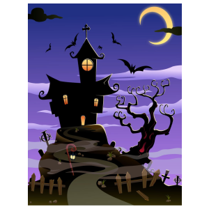 Halloween téma 03 matrica kép