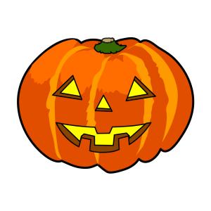 Halloween - tök 16 matrica kép