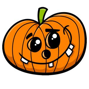 Halloween - tök 17 matrica kép