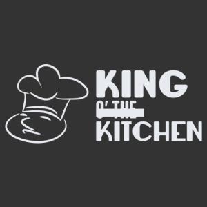A konyha királya séfes konyhai falmatrica kép