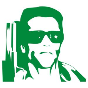 Arnold Schwarzenegger matrica kép