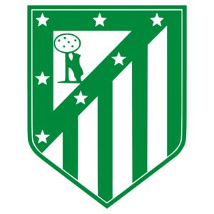 Atletico de Madrid jelvény matrica kép