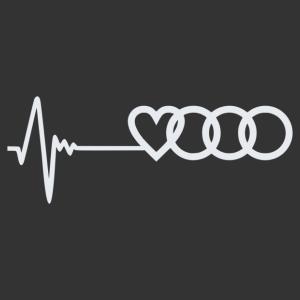 Audi életjel matrica kép