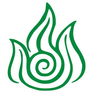 Avatar - tűz nemzet matrica kép