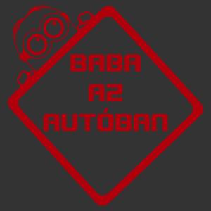 Baba az autóban - Minion 002 matrica kép