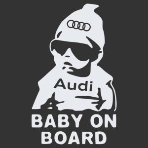 Baby On Board - Audi matrica kép