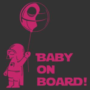 Baby on board - Darth Vader matrica kép