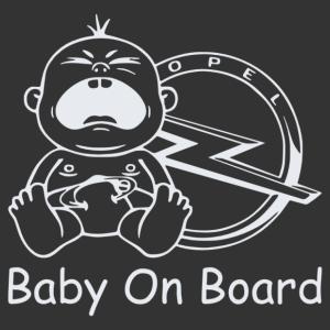 Baby On Board - Opel 3 matrica kép