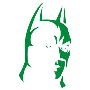 Batman 01 matrica kép