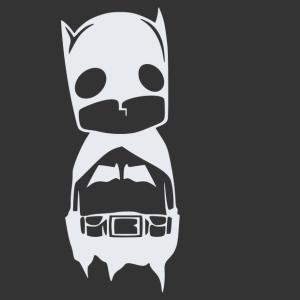 Batman baby matrica kép