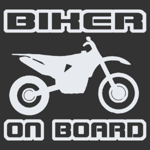 Biker On Board - Cross kép