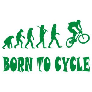 Born to cycle matrica kép