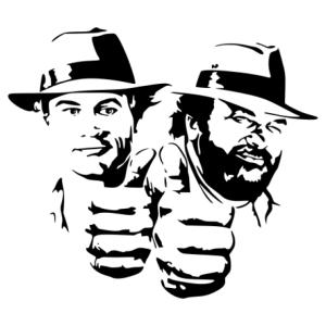 Bud és Terence 02 matrica kép