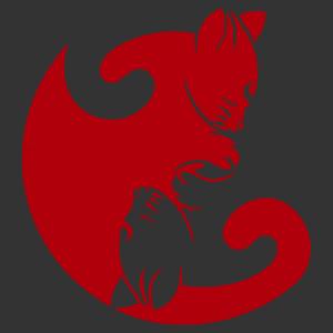 Cicák yin yang matrica kép