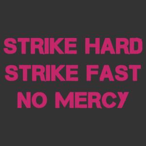 Cobra Kai karateiskola mottója - feliratos falmatrica kép