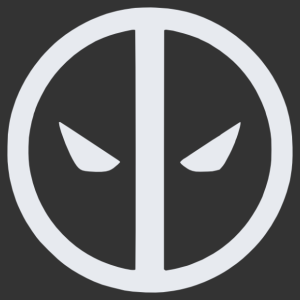 Deadpool logó matrica kép