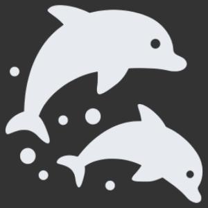 Delfinek 01 matrica kép