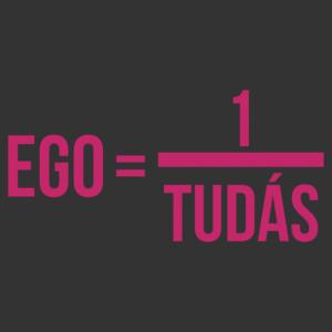 Ego egyenlő egy per tudás  - Einstein falmatrica kép