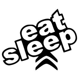 Evés alvás Citroen matrica kép