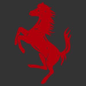 Ferrari ló lovas autómatrica kép