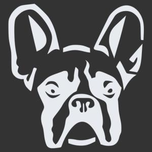 Francia bulldog 004 matrica kép