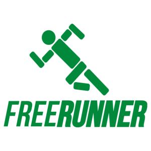 Freerunner - Szabadon futó matrica kép