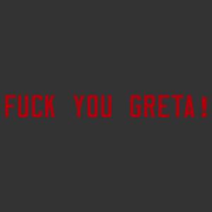 Fuck you Greta (Thunberg) felnőtt autómatrica kép