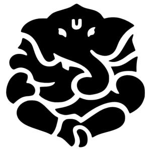 Ganésa (Ghanesha) jóga falmatrica kép