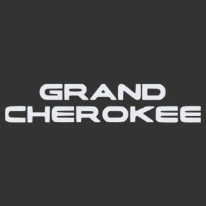 Grand Cherokee feliratos matrica kép