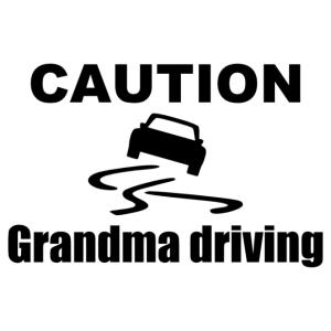 Grandma driving 001 kép