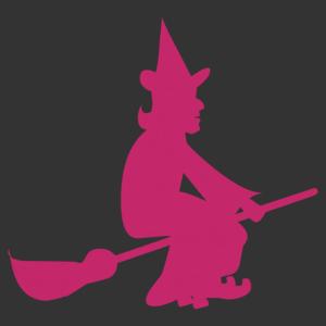 Halloween - boszorkány 03 matrica kép