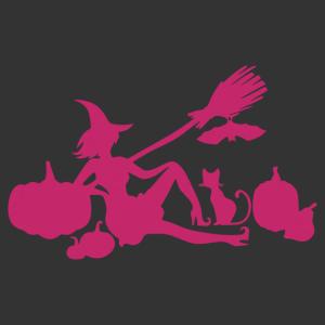 Halloween - boszorkány 10 matrica kép