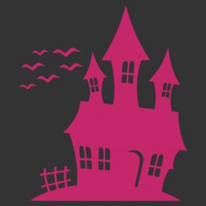 Halloween - kísértet kastély 01 matrica kép
