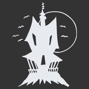 Halloween - kísértet kastély 03 matrica kép