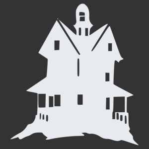 Halloween - kísértet kastély 05 matrica kép