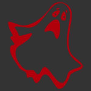 Halloween - szellem 05 matrica kép