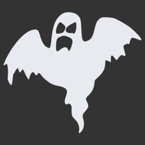 Halloween - szellem 06 matrica kép