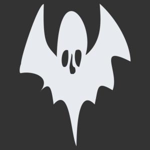 Halloween - szellem 08 matrica kép