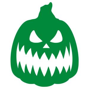 Halloween - tök 05 matrica kép
