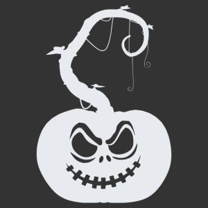 Halloween - tök 06 matrica kép