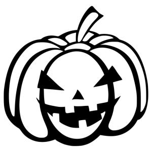 Halloween - tök 09 matrica kép