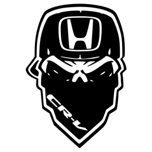 Honda CR-V gangster matrica kép