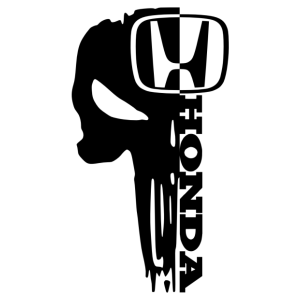 Honda megtorló matrica kép