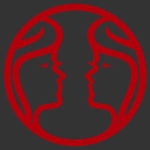 Horoszkóp - Ikrek 001 matrica kép