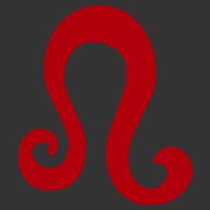 Horoszkóp - Oroszlán 002 matrica kép