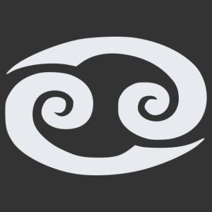 Horoszkóp - Rák 002 matrica kép