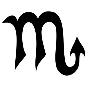 Horoszkóp - Skorpió 002 matrica kép