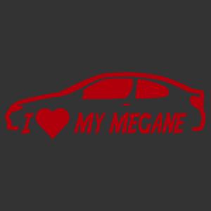 I love my megane (renault) matrica kép